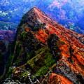 Mountain Landscape 27  by Kristalin Davis