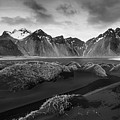 Icelandic Mountain  Landscape by Michalakis Ppalis