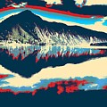 Mountain  Landscape Poster by Celestial Images