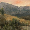 Mountain Landscape by MotionAge Designs