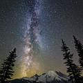 Mountain Milky Way by Thomas Ashcraft