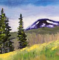 Mountain by Nancy Merkle