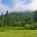 Mountain Peak Clouds by Crystal Garner
