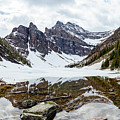 Mountain Picture Lake Agnes by Pixelme Photography