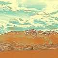 Mountain Range 2 by Celestial Images