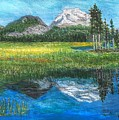 Mountain Reflections by Anne Sands