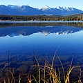Mountain Reflections by Larry Ricker