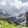Mountain Refuge Of Mount Viso by Paul MAURICE