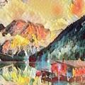 Mountain Retreat by Robert Kinser