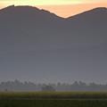 Mountain Silhouette by Ian Middleton