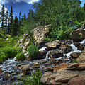 Mountain Stream 3 by Pete Hellmann