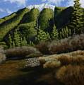 Mountain Stream by Dan Wheeler