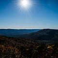 Mountain Sunburst by Denise Pennington