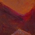 Mountain Sunrise by Chris  Riley