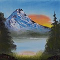 Mountain Sunset by Jacob Kimmig
