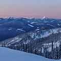 Mountain Sunset by Joy McAdams