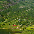 Mountain View In Colorado by Regina Strehl