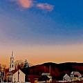 Mountain Village 2 by Elizabeth Tillar