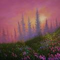 Mountain Wildflowers by Chris Steele
