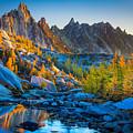 Mountainous Paradise by Inge Johnsson