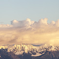 Mountains And Clouds by Michele Cornelius