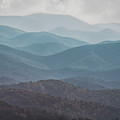 Mountains On Blue Ridge Parkway by Tom Gari Gallery-Three-Photography
