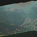 Mountains Peeking Through by Lenore Senior