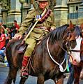 Mounted Infantry 2 by Douglas Barnard