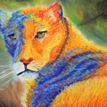 Mountian Lion 1 by Deborah Lewitt