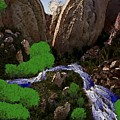 Mountine River by Dr Loifer Vladimir