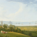 Mounts Bay From Ludgvan by William Brooks