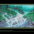 Moutain Cascades by Walt Green