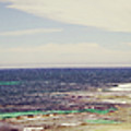Mouth Of Margaret River Beach Panorama by Cassandra Buckley