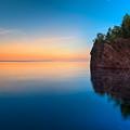 Mouth Of The Baptism River Minnesota by Steve Gadomski