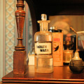 Mouth Wash In The Old Days by Jeff Swan