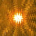 Moveonart Abstract Retro Light Action 2 by Jacob Kanduch