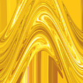 Moveonart Golden Light Wave by Jacob Kanduch
