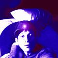 Moveonart Jacob In Blue Light Thinking by Jacob Kanduch