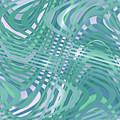 Moveonart Traveling Green 1 by Jacob Kanduch