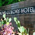 Movie Colony Hotel Palm Springs by William Dey