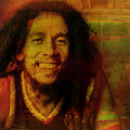 Movie Icons - Bob Marley I by Joost Hogervorst