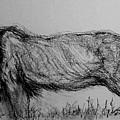 Moving Lion 1 by Arlene Rabinowitz
