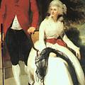 Mr And Mrs John Julius Angerstein  by John Saunders