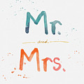 Mr And Mrs by Linda Woods