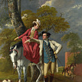 Mr And Mrs Thomas Coltman by Joseph Wright