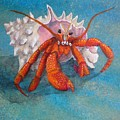 Mr. Crab by Cindy D Chinn