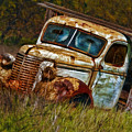 Mr Greenjeans Truck Ciose Up by Blake Richards