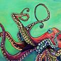 Mr Octopus by Patti Schermerhorn
