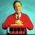 Mr Rogers With Trolley by Movie Poster Prints