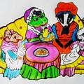 Mrs. Mouse Tea Party by Jo-Ann Hayden